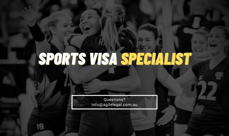 Sports visa options for sponsoring a Sports Coach or Professional Athlete to work in Australia